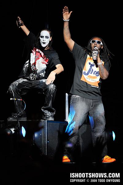 T-Pain @ the Chaifetz Arena -- 2009.01.08