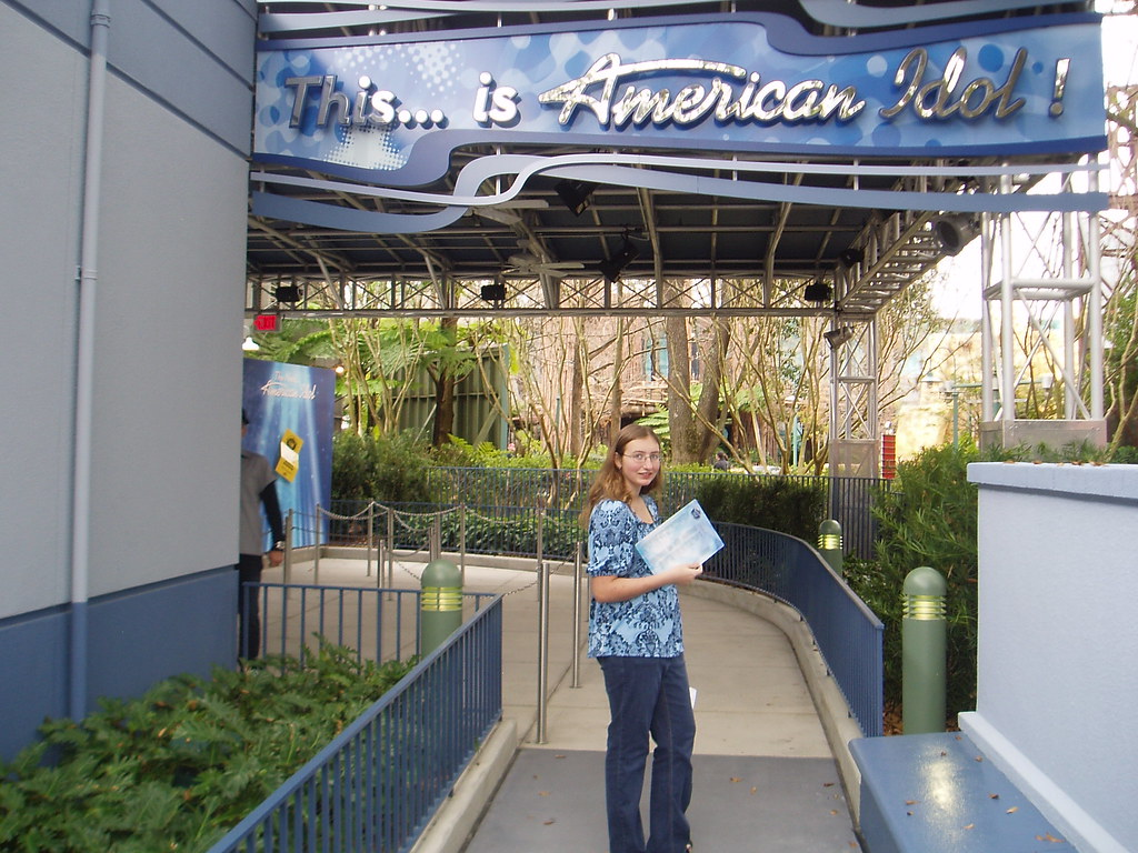 Entrance to the American Idol Experience
