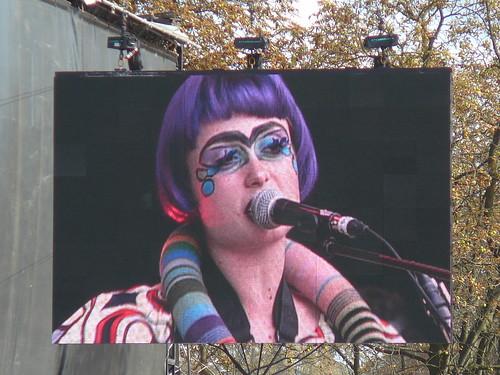 Ebony Bones ! @ Rock en Seine par vous