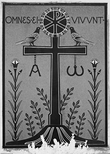 Art Nouveau tombstone by you.
