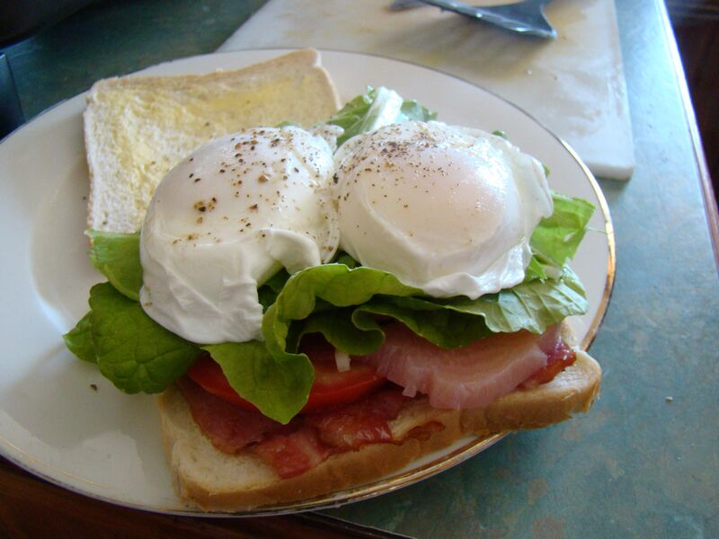 Bacon and Eggs Nana Glen Style
