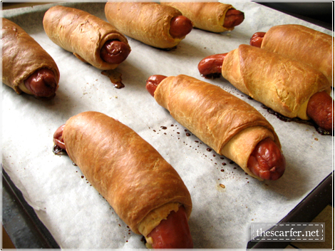 Pigs in a blanket: Try #1