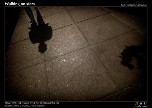 Walking on stars