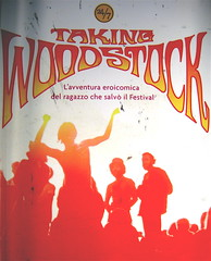 Taking Woodstock, di Elliot Tiber e Tom Monte, Rizzoli 2009, art director Francesca Leoneschi, graphic designer Elena Giavaldi; per la fotografia alla copertina: ©Barry Z. Levine, (part.) 1