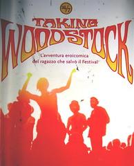 Taking Woodstock, di Elliot Tiber e Tom Monte, Rizzoli 2009, art director Francesca Leoneschi, graphic designer Elena Giavaldi; per la fotografia alla copertina: ©Barry Z. Levine, (part.) 1
