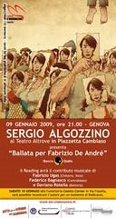 Fabriuzio De André by Sergio Algozzino at afnews