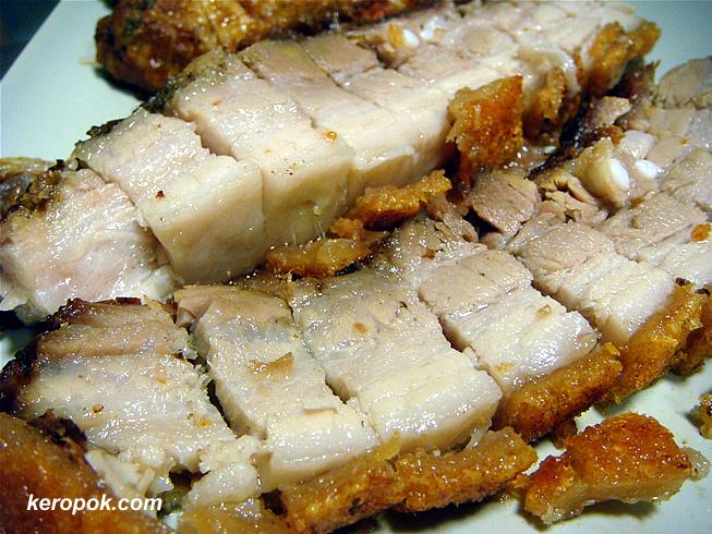Home made roast pork