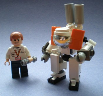 LEGO Praun biosuit with Wikus