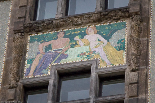 Art Nouveau mosaic by you.