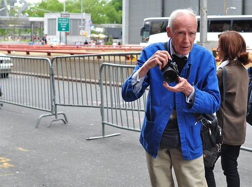 Bill Cunningham (!) Taking Kate's Picture