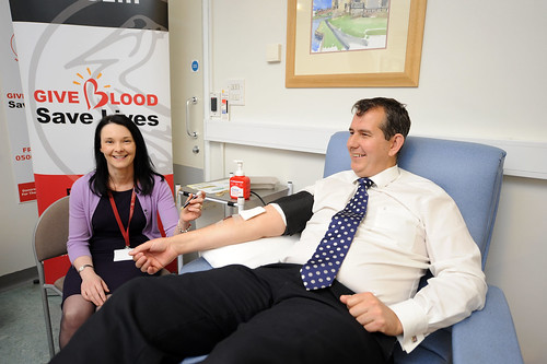 Edwin Poots can give blood will he expand those who can?