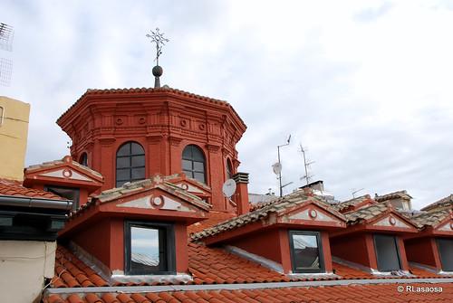 Tejado y linterna del Palacio Navarro Tafalla