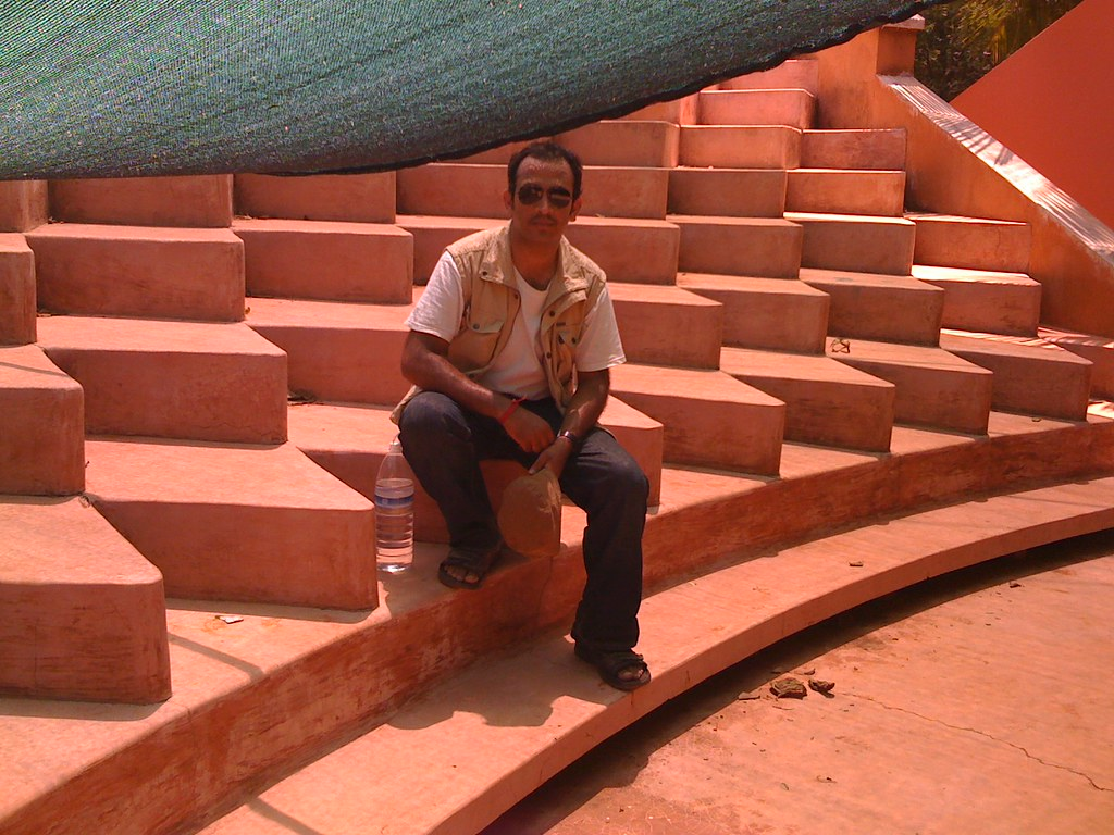 Amphitheatre at Deepanam School