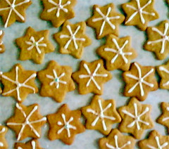 Starry night cookies