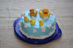 The Rubber Ducky Cake
