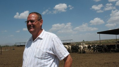 Gerald Lunt is the fifth generation of Lunts running a dairy farm in rural Arizona.