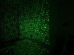 Green Laser Galaxy Wand