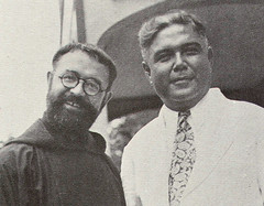 Fr. Cáseda and Pedro Martinez