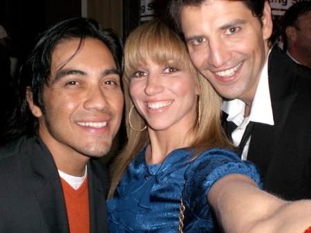Sakis and Ray - Sakis Rouvas is a huge Greek pop star and fellow Howard Fine student and, of course Ray Garcia - friend, choreograoher, photographer and all around amazing person!