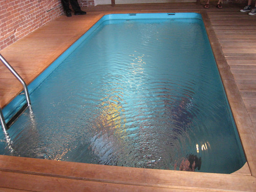 pool installation at PS1 exhibition