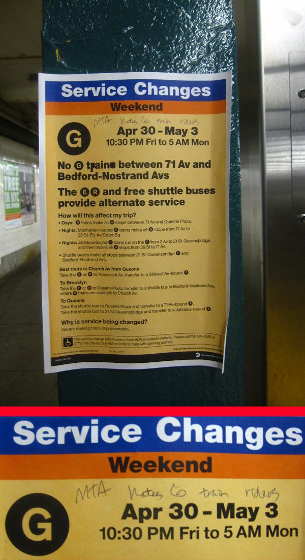 The MTA ia a Hater