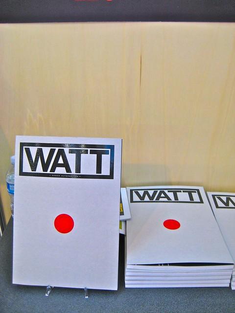 Salone del libro di Torino 2011, Watt