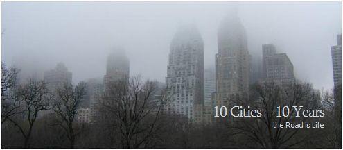 10 cities 10 years