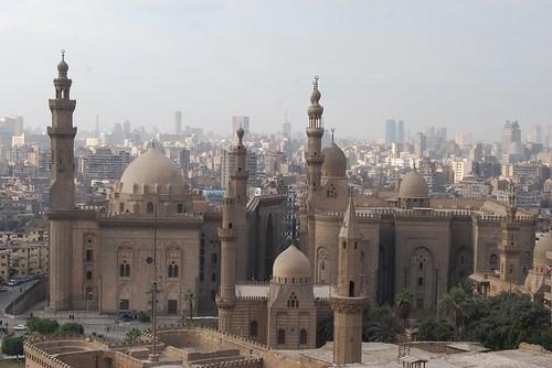 Mesquita do Sultão Hassan e a de Al-Rifai por feaemarco.