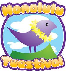 Honolulu Twestival Logo