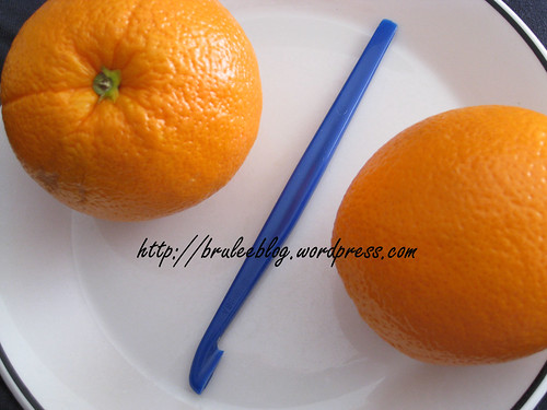 Tupperware citrus peeler