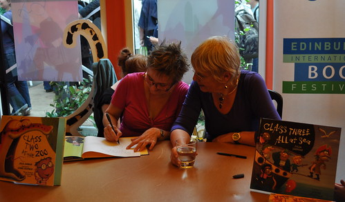 Lynne Chapman and Julia Jarman