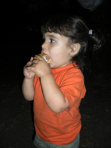 Clara's First S'more