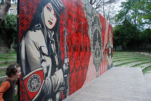 Shepard Fairey - Paris