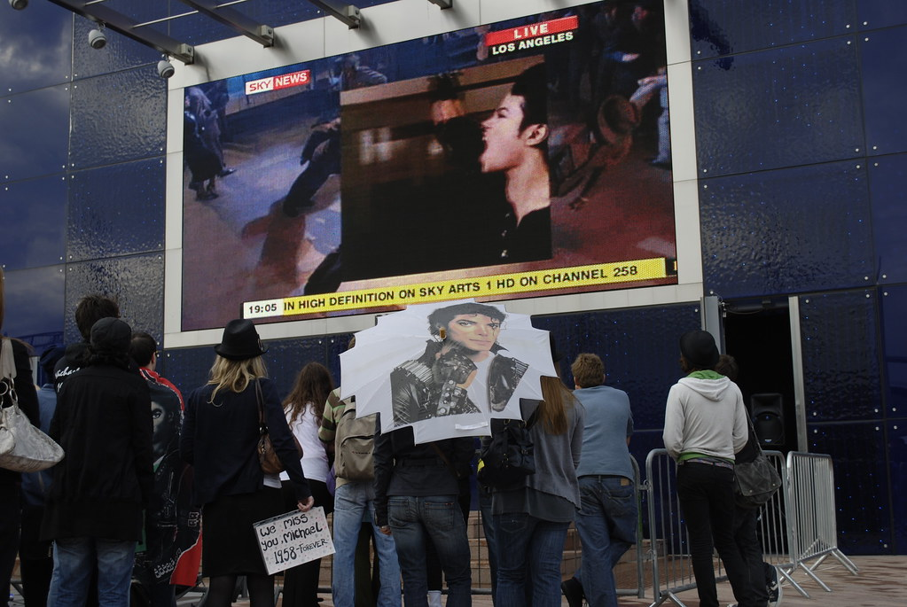 Michael Jackson memorial screening