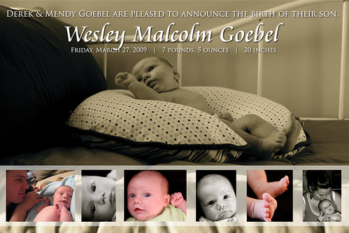 wesley-announcement