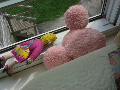 She Keeps Them Nearby.....Right on the Window Ledge.