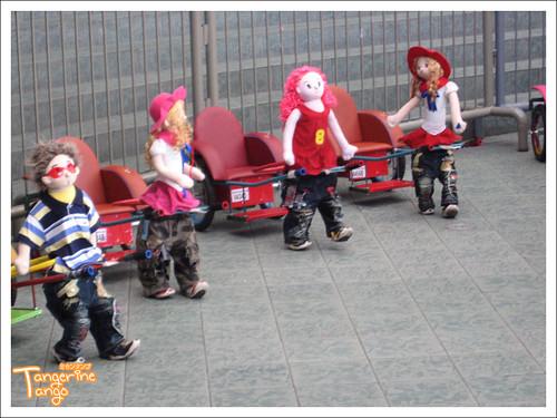 Robot Rickshaws