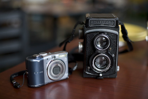 Rolleicord & A1000is