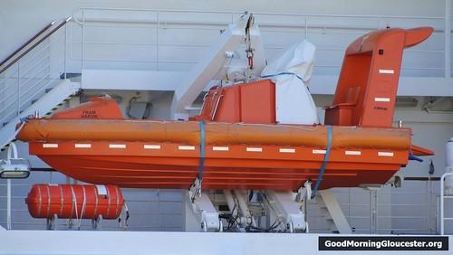 MS Fram Lifeboat