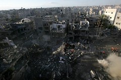 'Terrorists hunted down by Apache helicopters' by freegazaorg