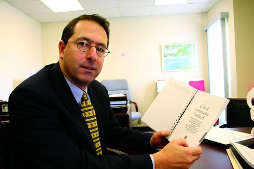 (Peter Libman, Dean of Students) Photo by Jacqueline Hlavenka
