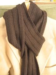 Garter Rib scarf