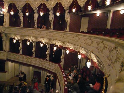 Karlovy Vary Theatre, interior