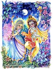 ISKCON desire tree - Radha and Krishna Dance T...