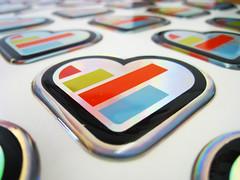 KISSmetrics Sticker