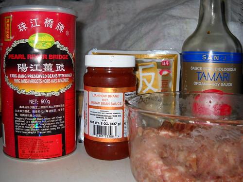 Mabo ingredients