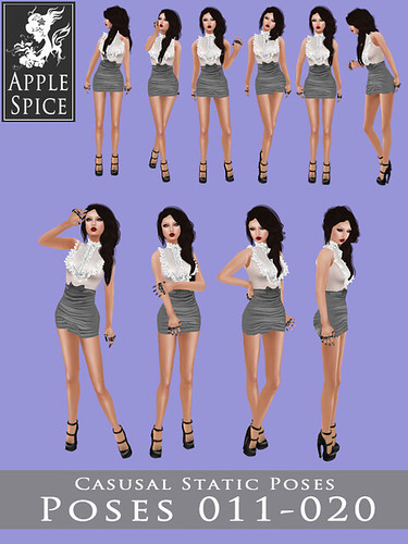 Apple Spice - Casual Static Poses 011-020