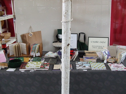 Virginia Highlands Festival Booth, with the pole