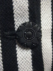 the finished jacket button