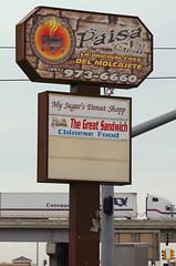New Sign at El Paisa Grill